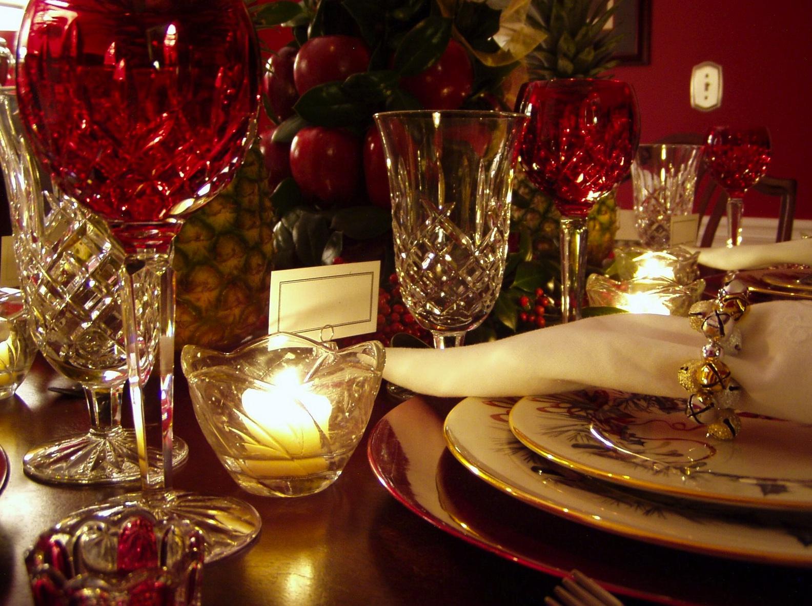 Ideas para decorar nuestra mesa de navidad - Decorar la mesa de navidad ...