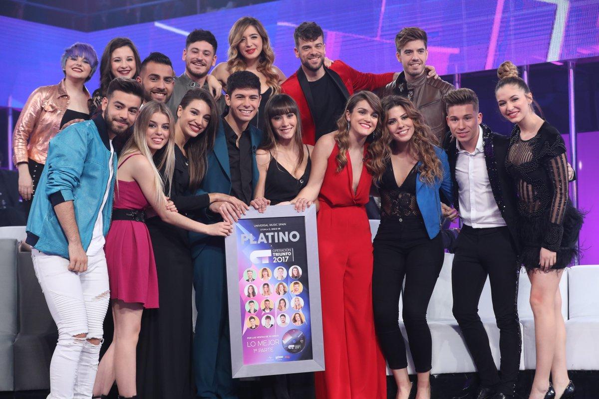 Los 16 concursantes de 'Operación Triunfo', de concierto en Valencia