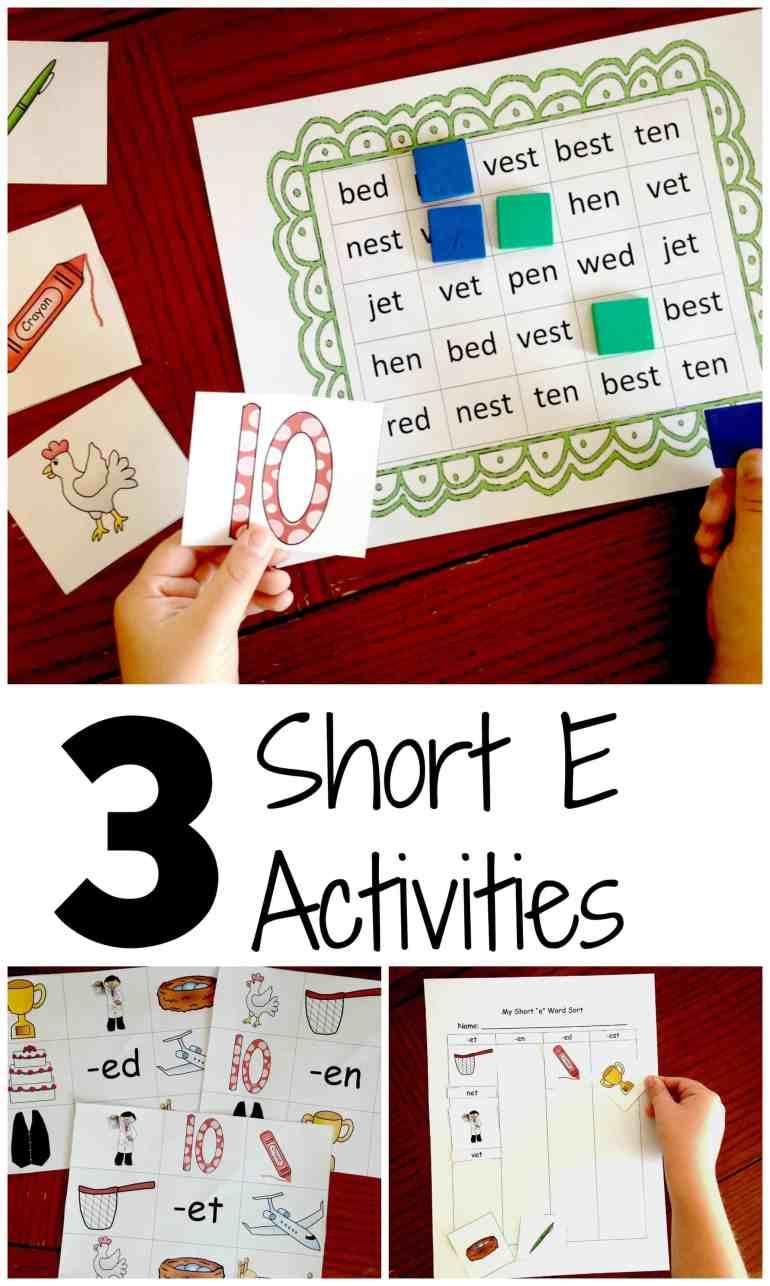 short-e-activities