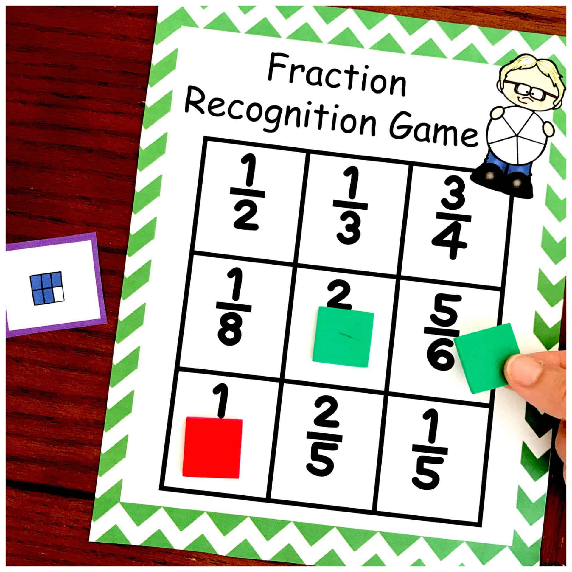 One Amazing Visual Fraction Models Game