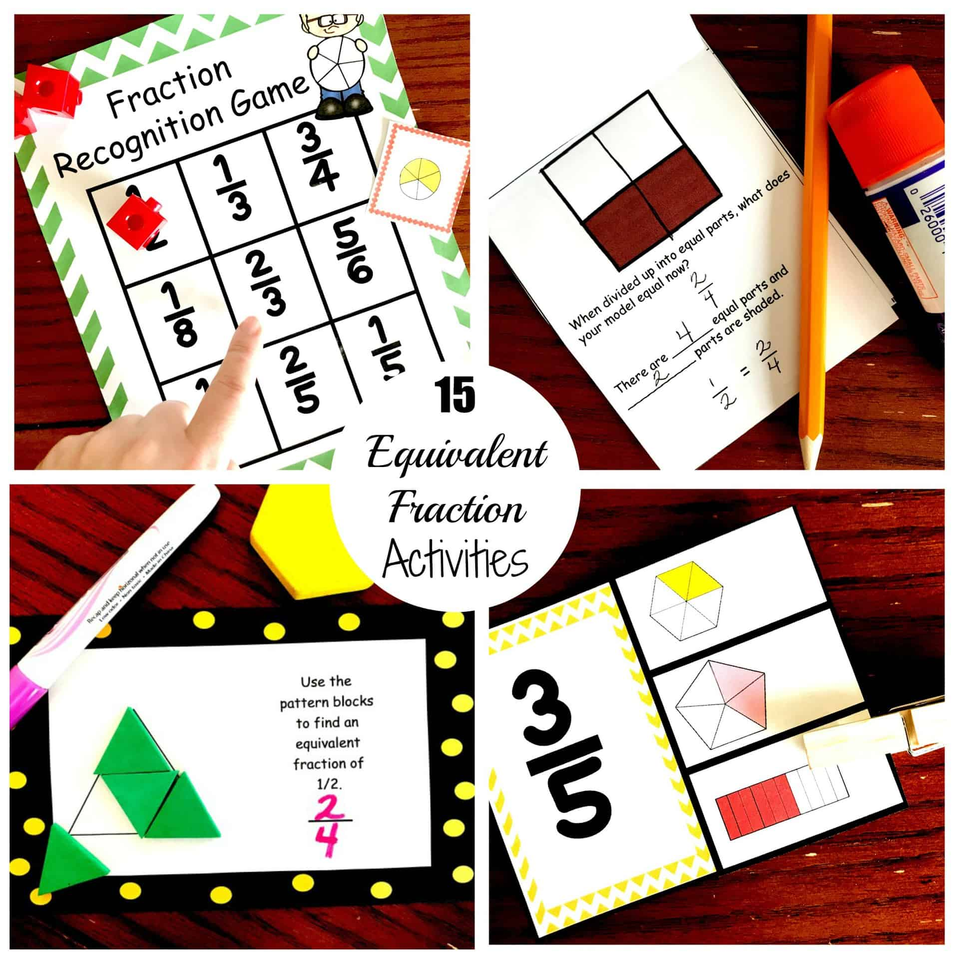 photograph regarding Equivalent Fractions Games Printable known as 15 Entertaining and Attention-grabbing Strategies toward Practice Related Fractions