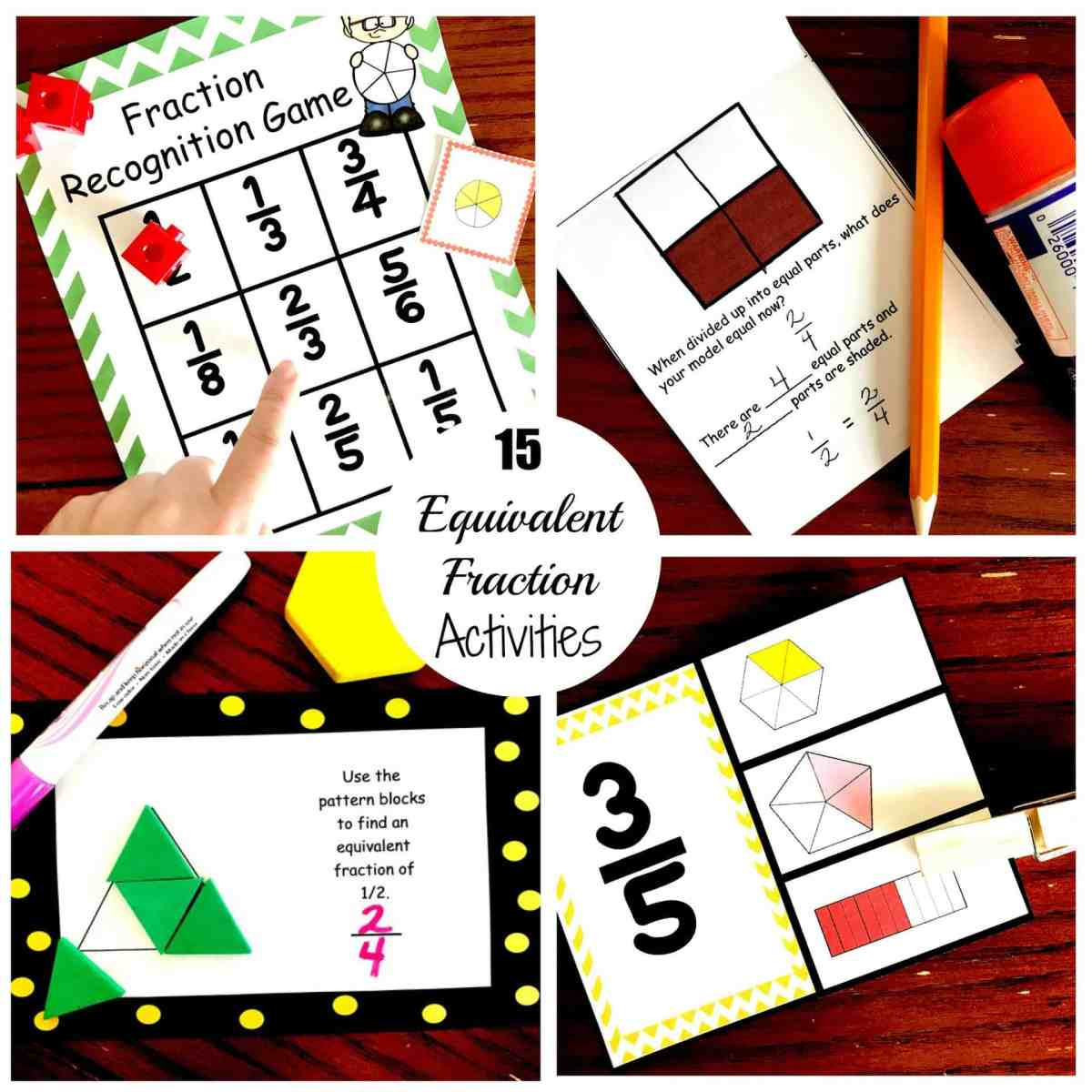 15 Fun and Exciting Ways to Teach Equivalent Fractions