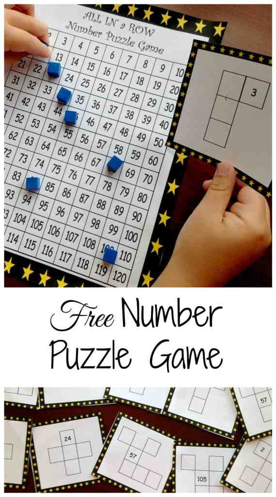 Free number puzzle game pinterest