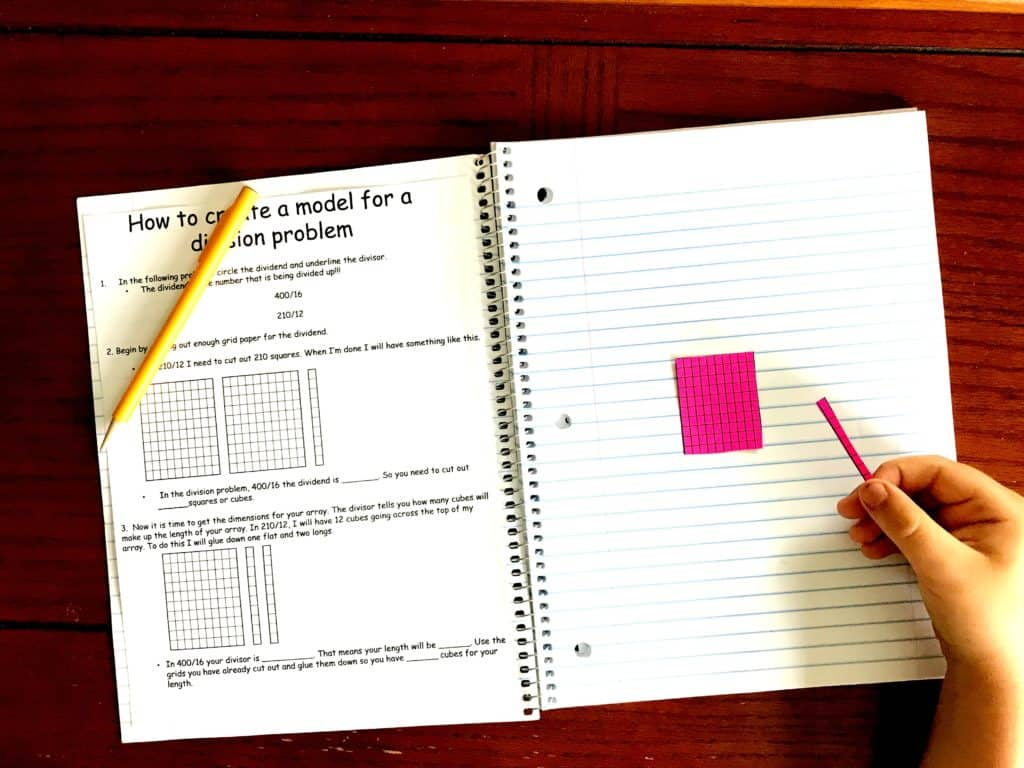 How To Teach Divison Using Arrays Free Interactive Notebook