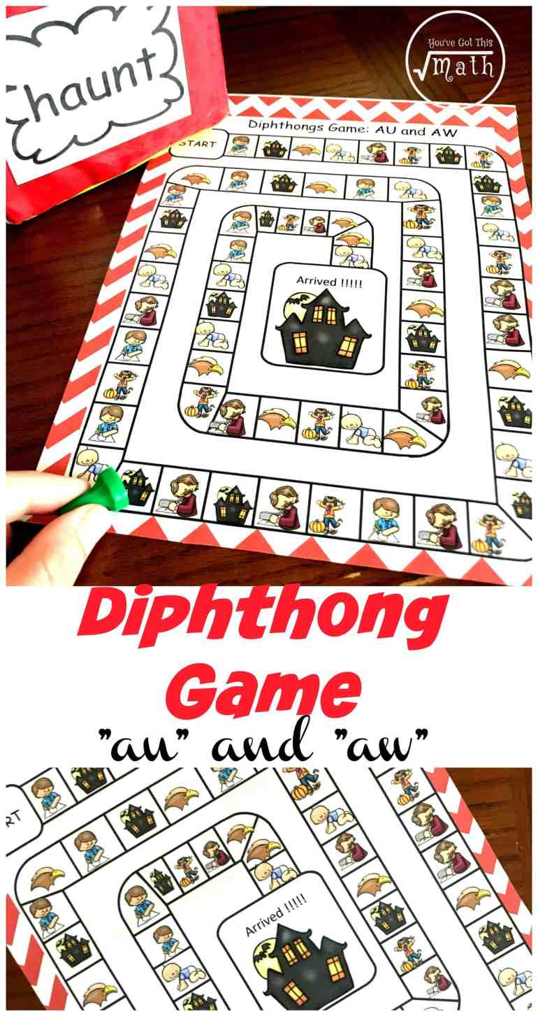 Want a fun way to work on diphthongs? Check out this low prep, diphthong game that encourages children to read diphthong words and find matching pictures.