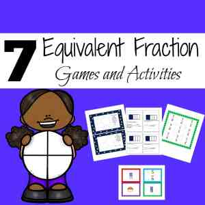 Equivalent Fraction Games and Activities