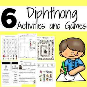 diphthong activities and games