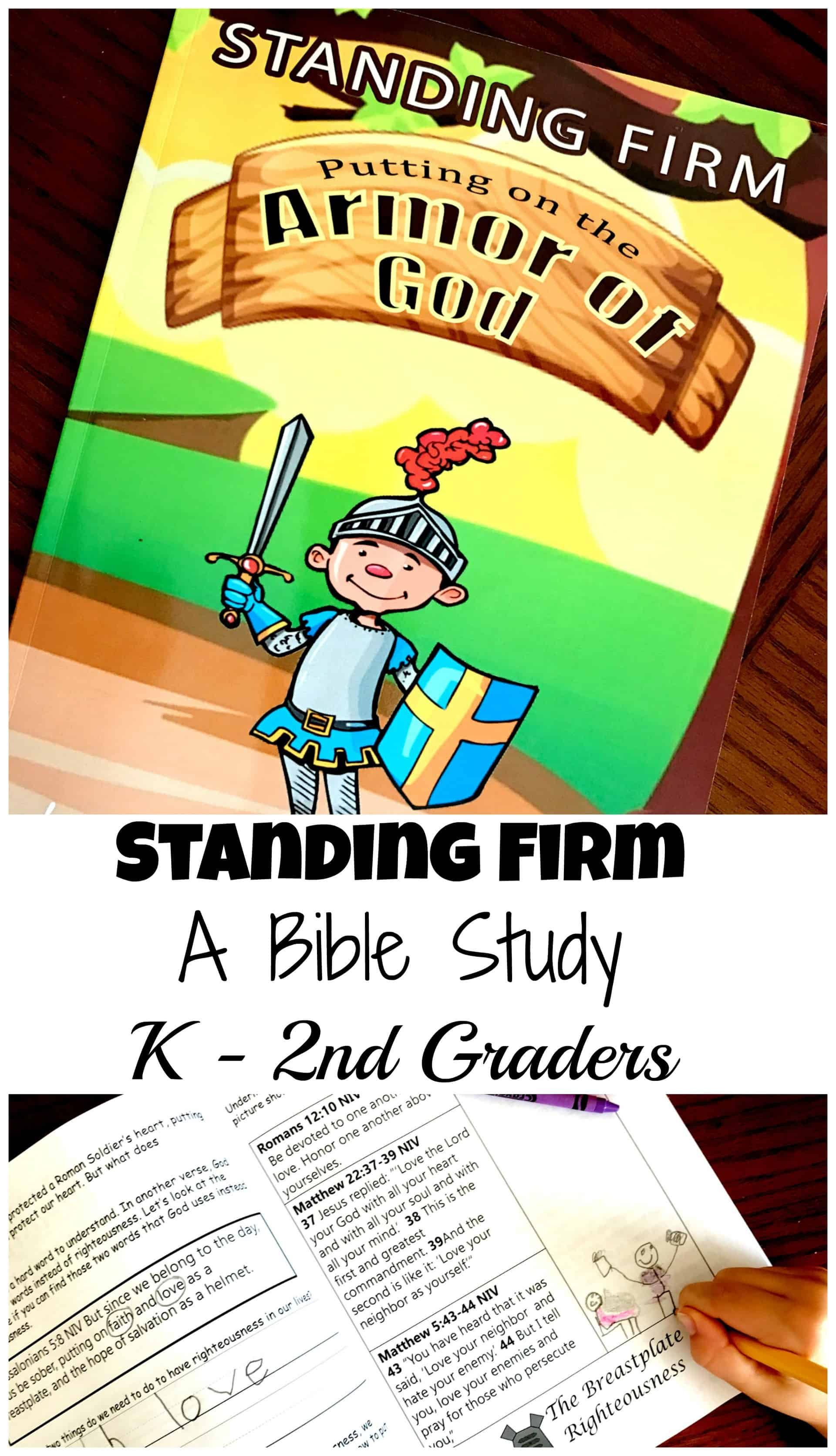Bible Study About The Armor Of God For K 2nd Graders