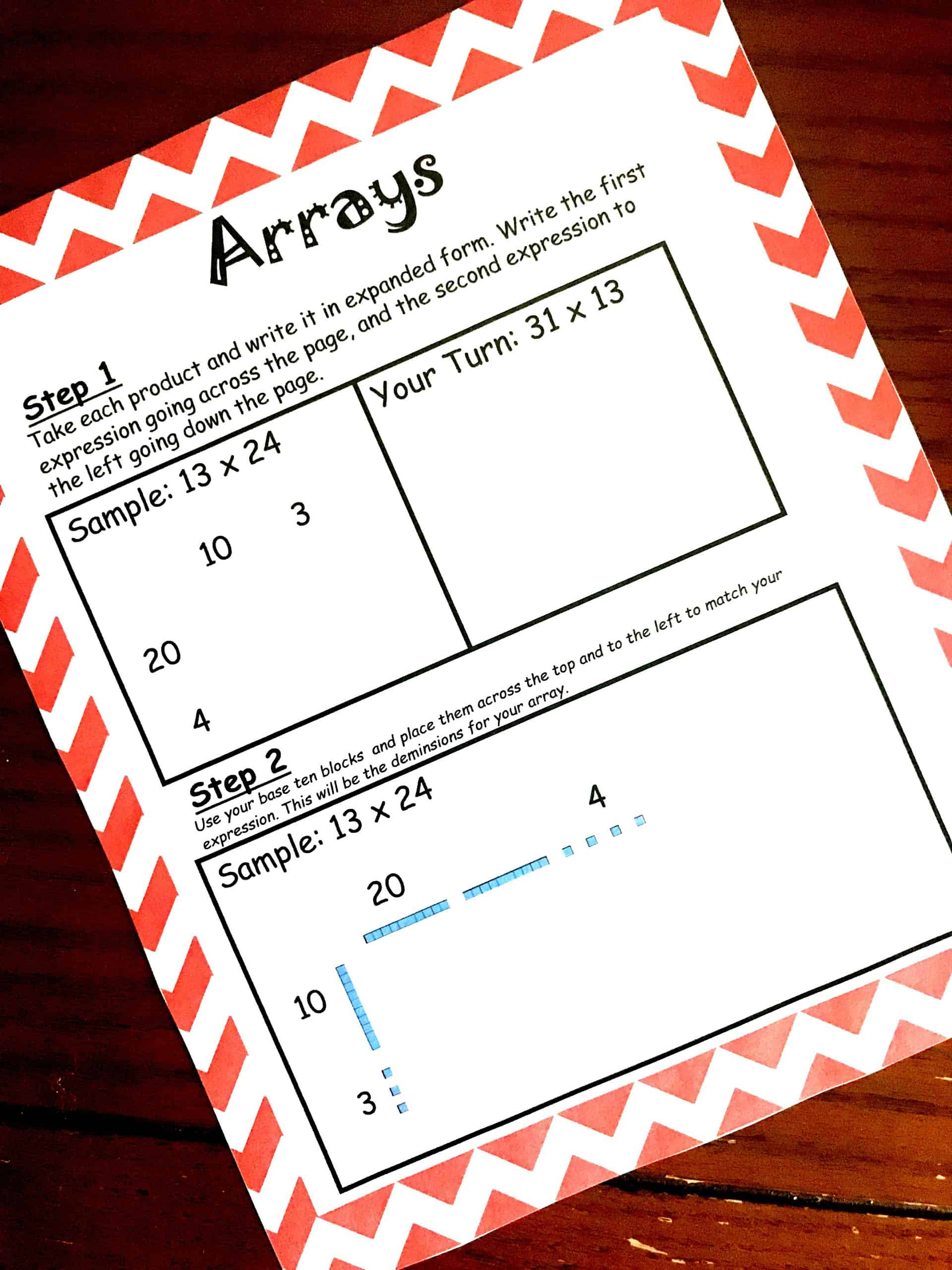 How To Teach Large Digit Multiplication Using Arrays And Base Ten Blocks