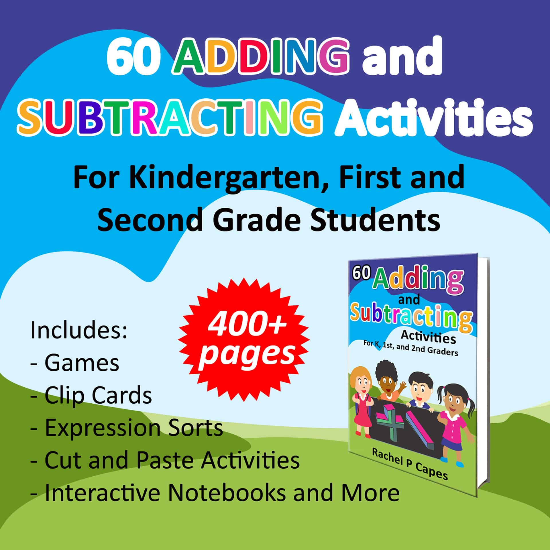 60 Adding and Subtracting Activities to Help Teach K, 1st, & 2nd Graders