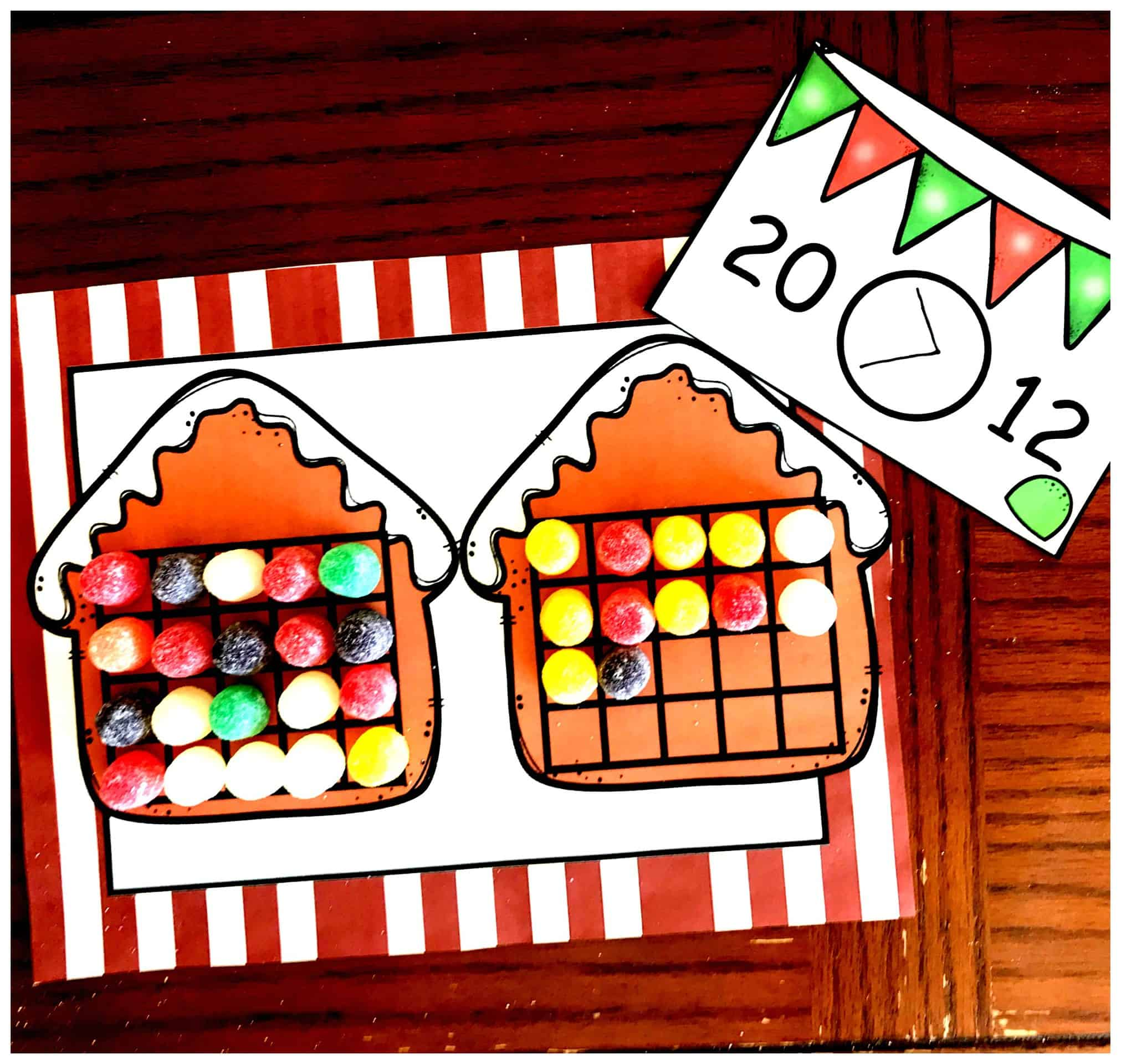 Practice Comparing And Ordering Numbers With This Christmas Activity