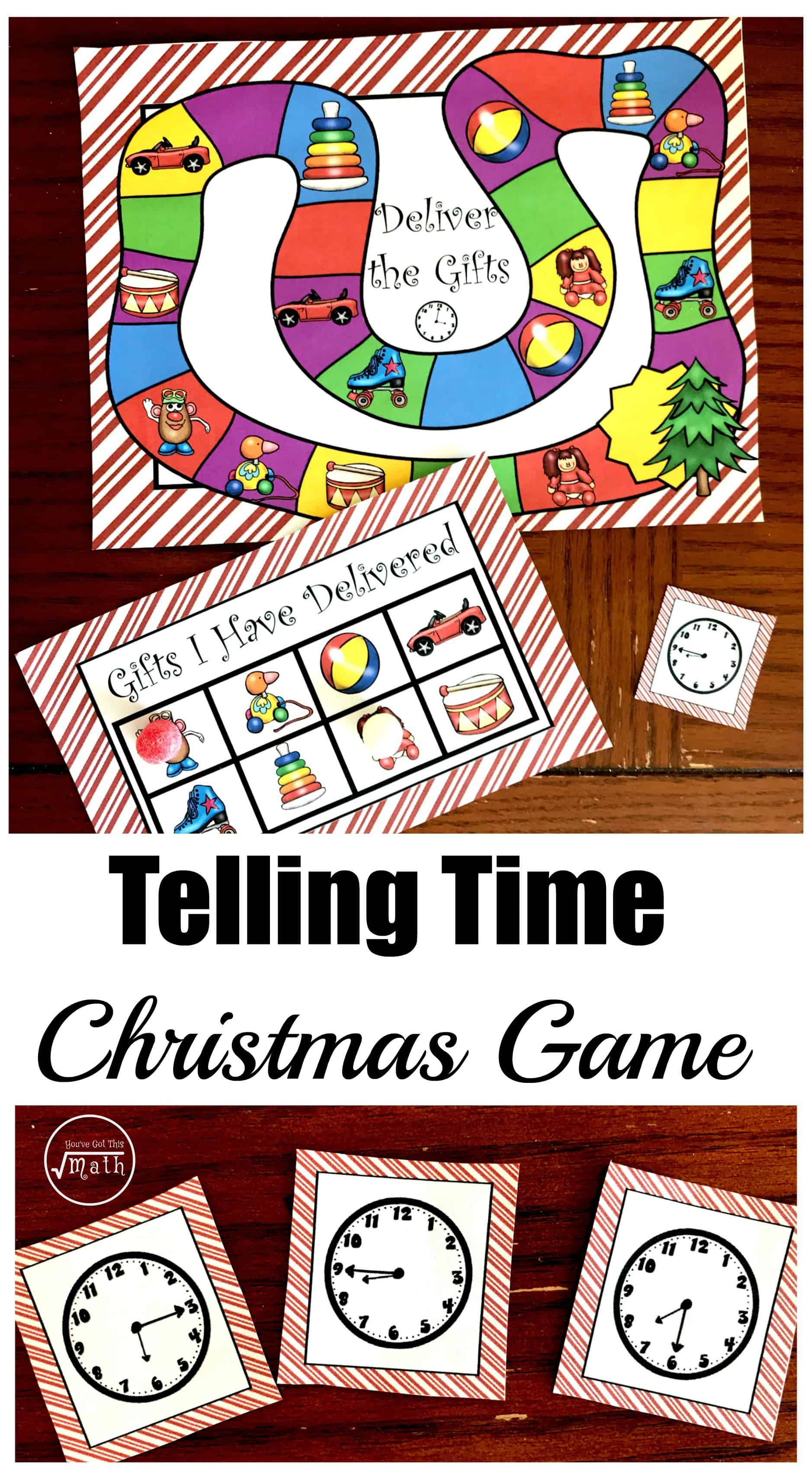 This free printable time game is a fun way to practice telling time. It has three levels....analog clocks to the hour, to fifteen minutes, and to five min.