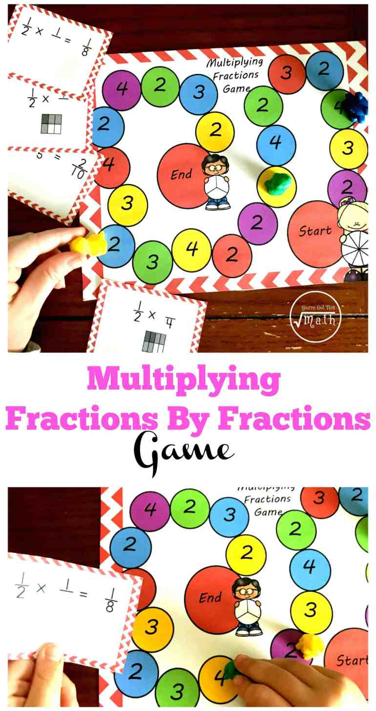 Unusual image pertaining to multiplying fractions games printable