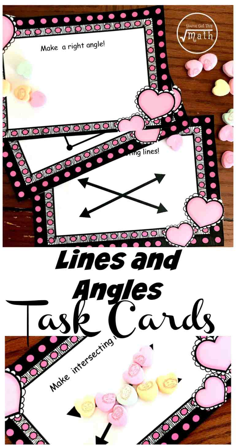Get children building things like intersecting lines, acute angles, and more with these fun lines and angles worksheets or task cards.