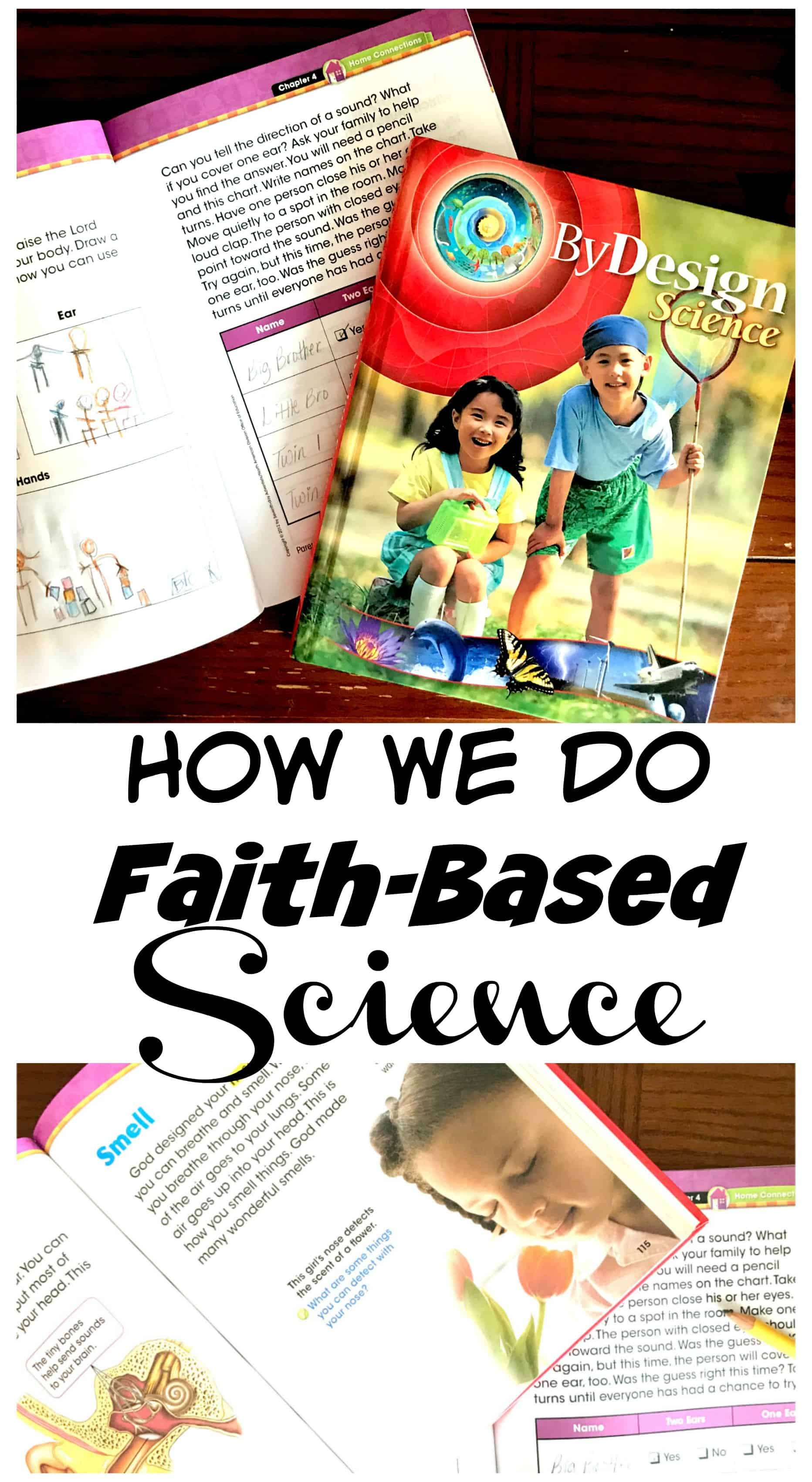 Are you curious as to what science looks like in other homeschools? Check out how we do faith based science with a glimpse into one day of our lives.