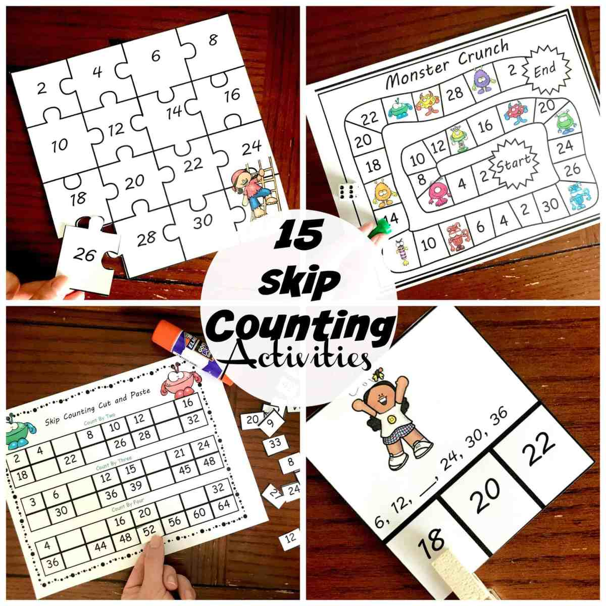 15 Fun and Exciting Skip Counting Activities