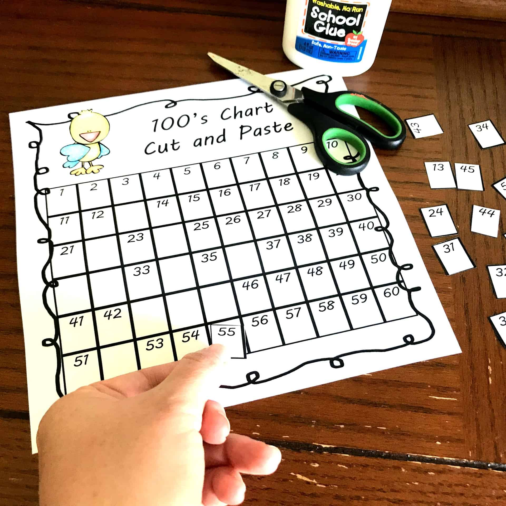 5 Free Hundreds Chart With Missing Numbers