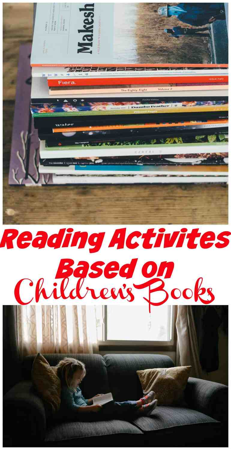 Are you looking for activities based on children's books? 7Sister's has created packets that allow children to dive deeper into some of our favorite books.
