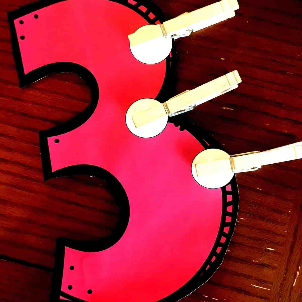 FREE Fine Motor Skills Number Recognition Activity