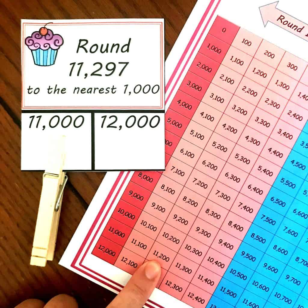 Free Printable For Rounding Numbers To The Nearest