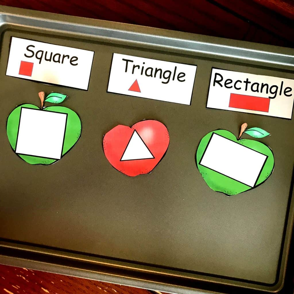 Free Preschool Pattern Activity With An Apple Theme