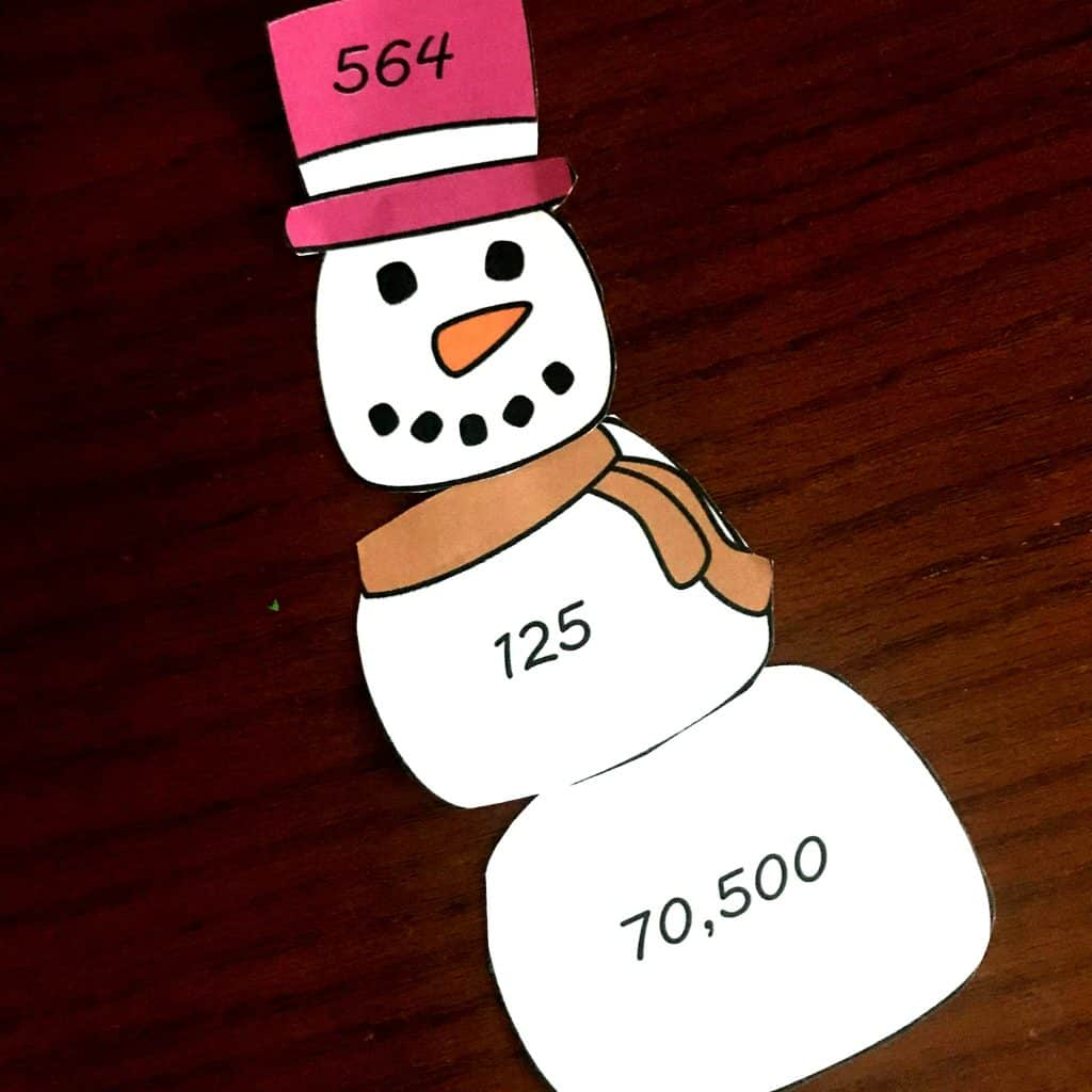 Free Winter Activity For 3 Digit By 3 Digit Multiplication