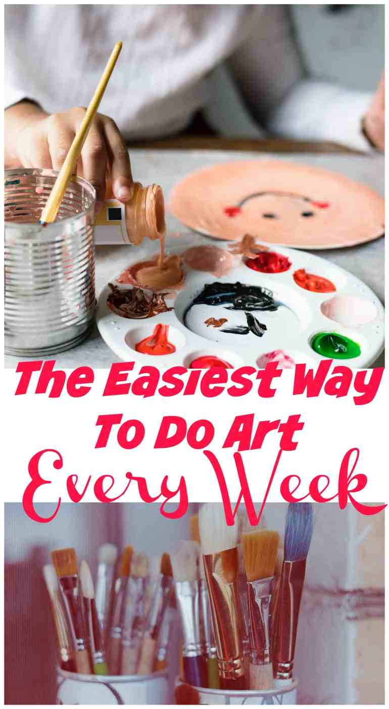This fantastic homeschool art curriculum is an easy way to implement art into your week. With easy to follow lesson plans your children will learn about artists and become one too.