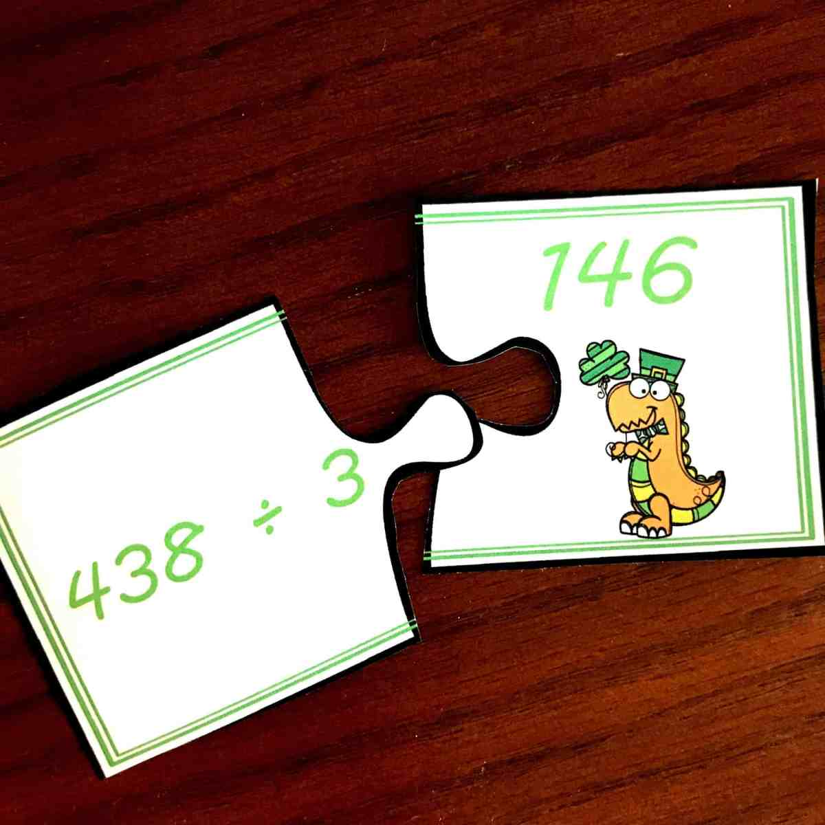 FREE Puzzles For Long Division Practice