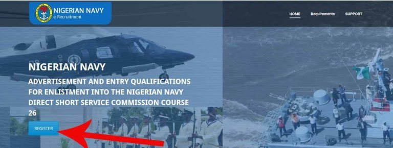 Navy shortlisted candidate