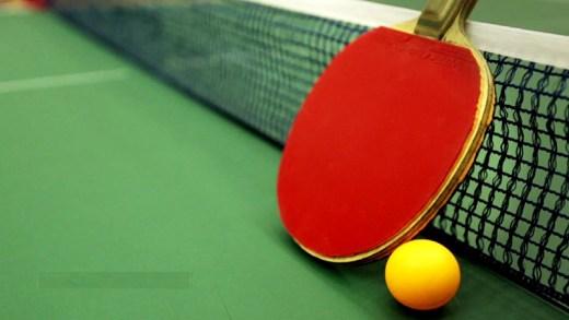 Wang Chuqin ve Marek Tutura masa tenisi maçı