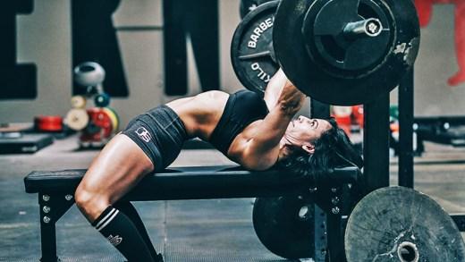 halterci kadınlar antrenman