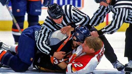 şubat 2018 NHL kavgaları