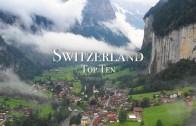 İsviçre'de Ziyaret Edilecek 10 Yer