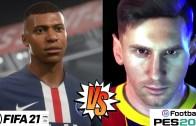 Bitmeyen Rekabet – Fifa 21 vs Pes 2021 Karşılaştırması