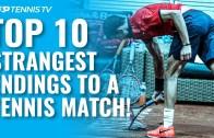 Tenis Maçlarındaki En İlginç Maç Bitimleri