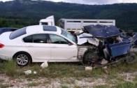 BMW Sürücülerinden Akıl Almaz Kazalar (Parayla Yetenek Satın Alınamıyor)