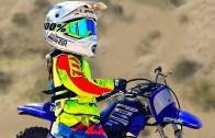 Çocuklardan Şapka Çıkartılacak Motocross Performansı