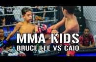 Çocuklardan Ayakta Alkışlanacak Kafes Dövüşü Performansı