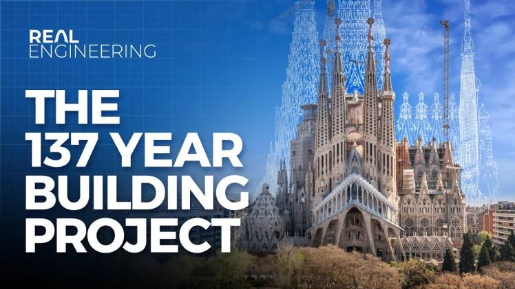 İspanya'nın İncisi La Sagrada Familia'nın Devam Eden İnşaatı