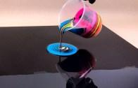 Kara Delik Tekniğiyle Akrilik Boyama Sanatı
