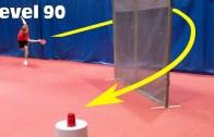 Ping Pong Ustasından Olağanüstü Gösteri