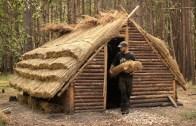 10 Günde Ortaçağ Ağaç Evi Yapımı (Doğanın Ortasında)