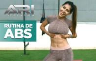 İspanyol Seksi Kadından Karın Antrenmanı