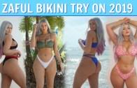 Seksi Rus'tan Baş Döndüren Bikini Şov