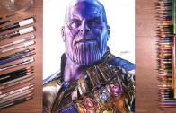 Sonsuzluk Eldiveni İle Thanos Çizimi (Efsane Sonuç)