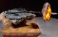 Maket Tank ile Ateşleme Gösterisi