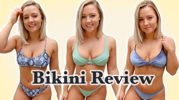 Seksi Sarışından Uygun Fiyatlı Ateşli Bikini Şovu