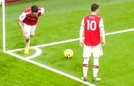 Yetenekli Futbolculardan Akıl Dolu Oyunlar