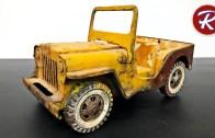 1960'lardan Kalma Tonka Jeep Restorasyonu