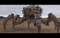 Güvenliği Sağlamak İçin Tasarlanan Yeni Nesil Askeri Robotlar!